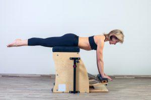 Pilates Studio Chair exercises